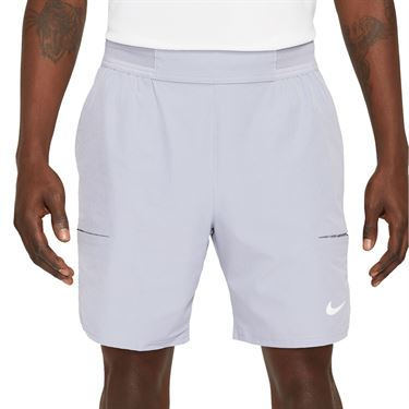 Nike Court Dri FIT Advantage Short Mens Indigo Haze/White CV5046 519