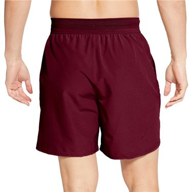 Nike Court Advantage 7 Inch Short - Dark Beetroot/White