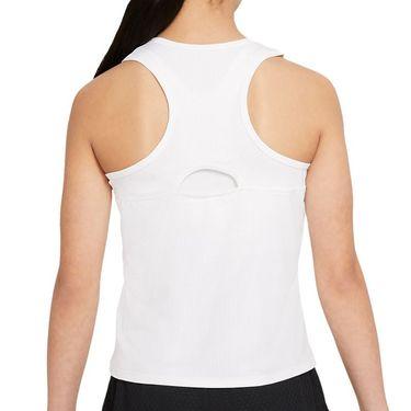Nike Court Girls Dri Fit Victory Tank White/Black CV7573 100