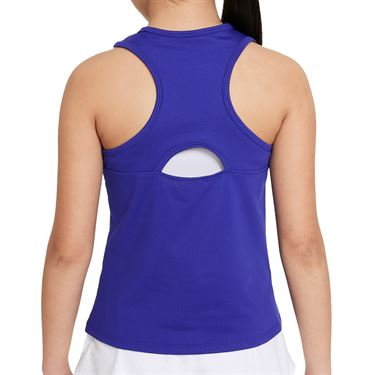 Nike Court Girls Dri Fit Victory Tank Concord/White CV7573 471