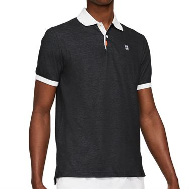 Nike The Nike Polo Slam Shirt Mens Black/White CV7876 010