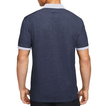 Nike The Nike Polo Slam Shirt Mens Obsidian/Indigo Haze CV7876 451