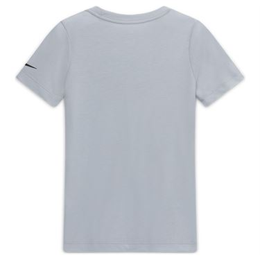 Nike Boys Court Dri Fit Rafa Tee Shirt Sky Grey CW1521 042