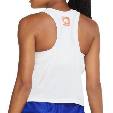 Nike Court Tank Womens White CW1536 100
