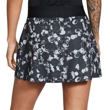 Nike Court Dry Printed Straight Skirt Womens White/Black CW2138 011