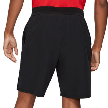 Nike Court Dri FIT Advantage Short Mens Black/White CW5944 010