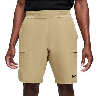Nike Court Dri FIT Advantage Short Mens Parachute Beige/Black CW5944 297