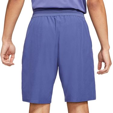 Nike Court Dri FIT Advantage Short Mens Dark Purple Dust/White CW5944 510
