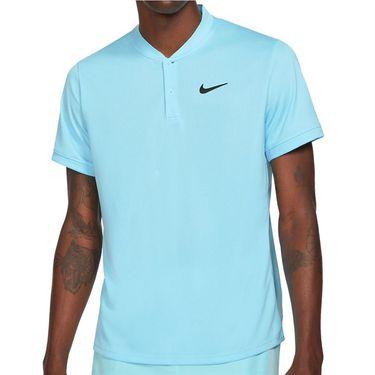 Nike Court Dri FIT Shirt Mens COPA/Black CW6288 482