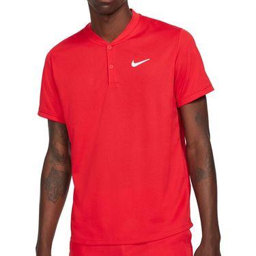 Nike Court Dri FIT Shirt Mens University Red/White CW6288 657
