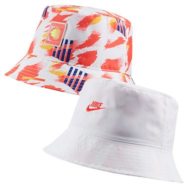 Nike Court Reversible Bucket Hat - White