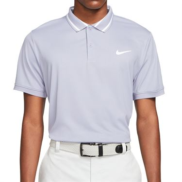 Nike Court Dri FIT Polo Shirt Mens Indigo Haze/White CW6848 519