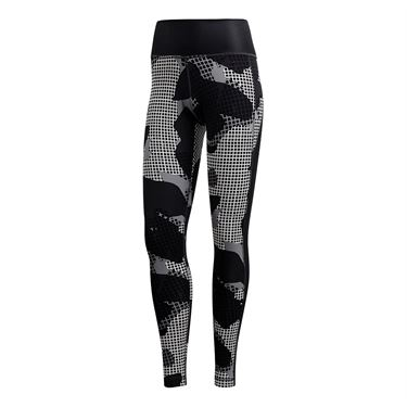 adidas Believe This Print High Rise Legging - Black/Print