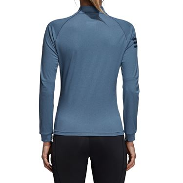 adidas Club 1/2 Zip Midlayer - Tech Ink