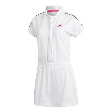 adidas Seasonal Dress - White/Shock Pink