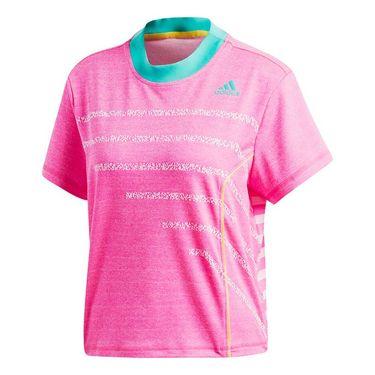 adidas Seasonal Tee - Shock Pink