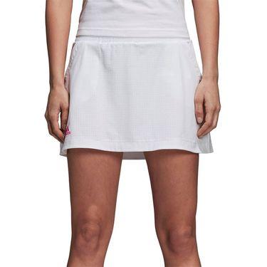 adidas Seasonal Skirt - White/Shock Pink