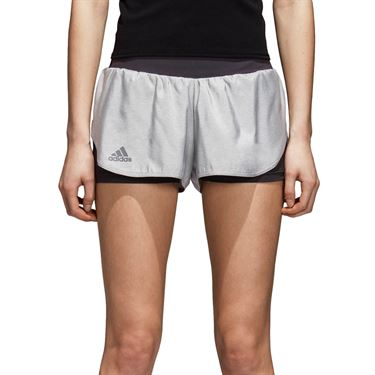 adidas Barricade Short - Grey/Black