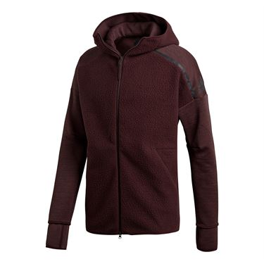 adidas ZNE Hoody - Night Red
