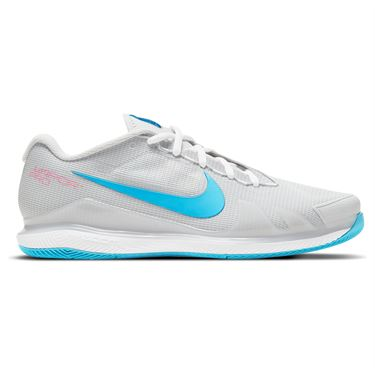 Nike Court Air Zoom Vapor Pro Mens Tennis Shoe Photon Dust/Chlorine Blue/Grey Fog CZ0220 008