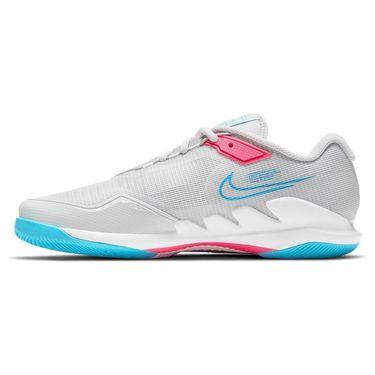 Nike Court Air Zoom Vapor Pro Mens Tennis Shoe Photon Dust/Chlorine Blue/Grey Fog CZ0220 008