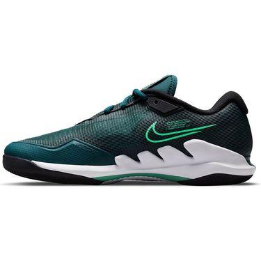 Nike Court Air Zoom Vapor Pro Mens Tennis Shoe Dark Teal Green/Green Glow/White/Black CZ0220 324