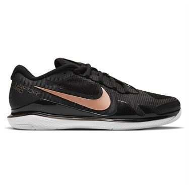 Nike Court Air Zoom Vapor Pro Womens Shoes Black/Metallic Red Bronze/White CZ0222 024
