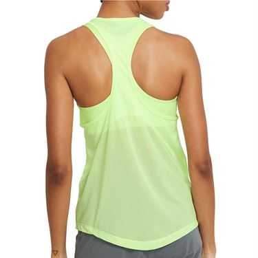 Nike Miler Tank Womens Barely Volt/Reflective Silver CZ1046 701