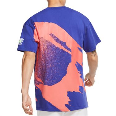Nike Court Crew Shirt Mens Light Concord CZ9602 432