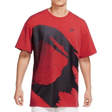 Nike Challenge Court Fireball Tee Shirt - Laser Crimson
