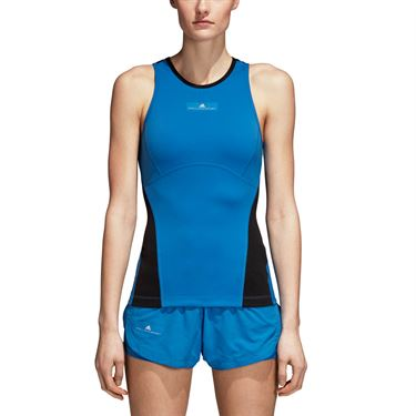 adidas Stella McCartney Barricade Tank - Ray Blue/Black