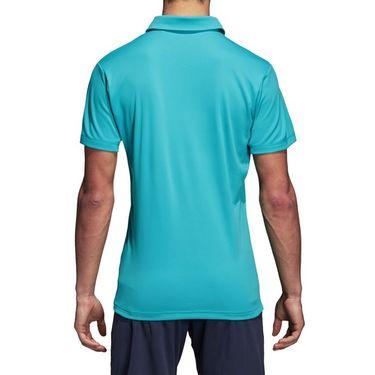 adidas Climachill Polo Shirt - Hi Res Aqua