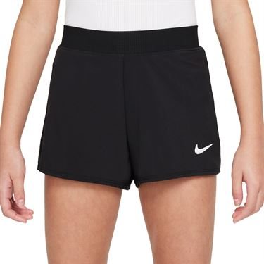 Nike Court GIrls Dri Fit Victory Shorts Black/White DB5612 010