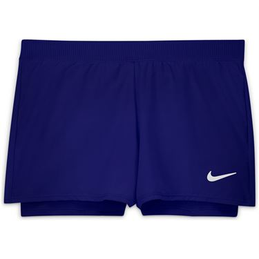 Nike Court GIrls Dri Fit Victory Shorts Concord/White DB5612 471