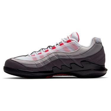 Nike Vapor X Air Max 95 Mens Tennis Shoe White/Solar Red/Grey DB6064 100