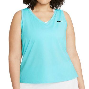 Nike Court Victory Tank Plus Size Womens COPA/Black DB6605 482