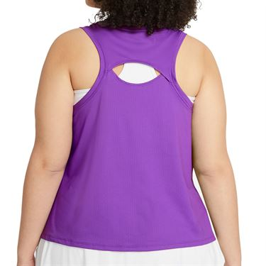 Nike Court Victory Tank Extended/Plus Size Womens Wild Berry/Black/White DB6605 528