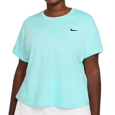 Nike Court Victory Top Plus Size Womens COPA/Black DB6618 482