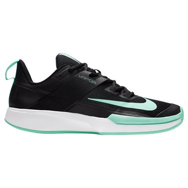 Nike Court Vapor Lite Mens Tennis Shoe Black/Green Glow/White DC3432 009