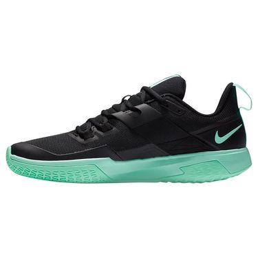 Nike Court Vapor Lite Mens Tennis Shoe Black/Green Glow/White DC3432 009