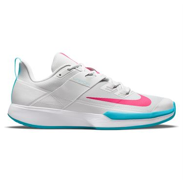 Nike Court Vapor Lite Mens Tennis Shoe Photon Dust/Hyper Pink/Chlorine Blue DC3432 024