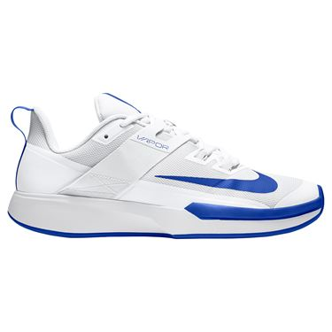 Nike Court Vapor Lite Mens Tennis Shoe White/Hyper Blue DC3432 124