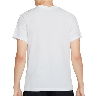 Nike Court Swoosh Tee Shirt Mens White DC5249 100