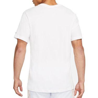 Nike Court Dri FIT Rafa Tee Shirt Mens White/Black DC5364 100