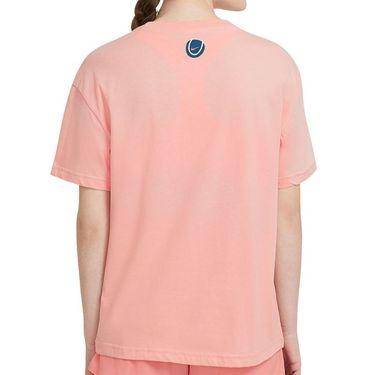 Nike Court Tee Shirt Womens Arctic Orange DC8928 800