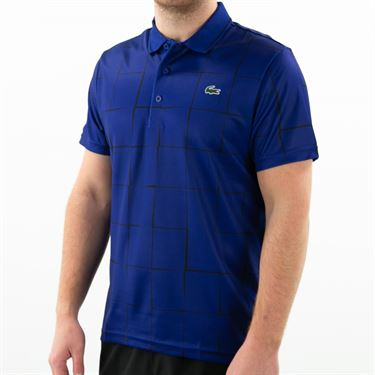 Lacoste Chemise Collegiate Polo Mens Cosmic/Black DH2052 JSL