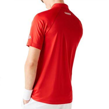 Lacoste SPORT x Novak Djokovic Print Stretch Jersey Polo