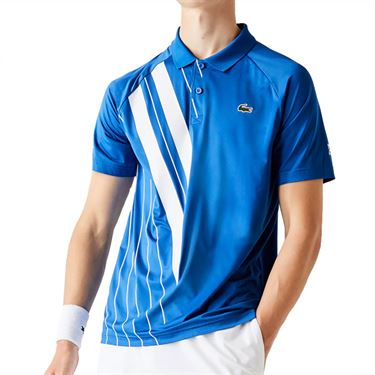 Lacoste Chemise Polo Mens Marina/White DH2241 LUXû
