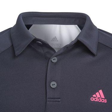 adidas Boys Club Colorblock Polo - Legend Ink