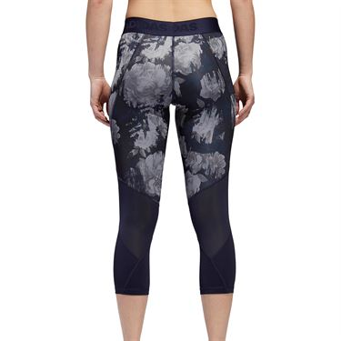 adidas Alphaskin Sport 3/4 Legging - Legend Ink/Print